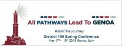 D109 Conference 2019 - 17 May 19